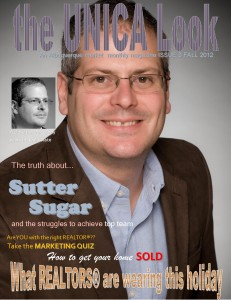 Sutter Sugar The Sugar Team Magazine Cover